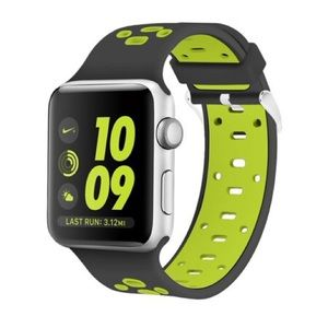 Accessories - For Apple Watch Silicone Perforated Band, 38mm